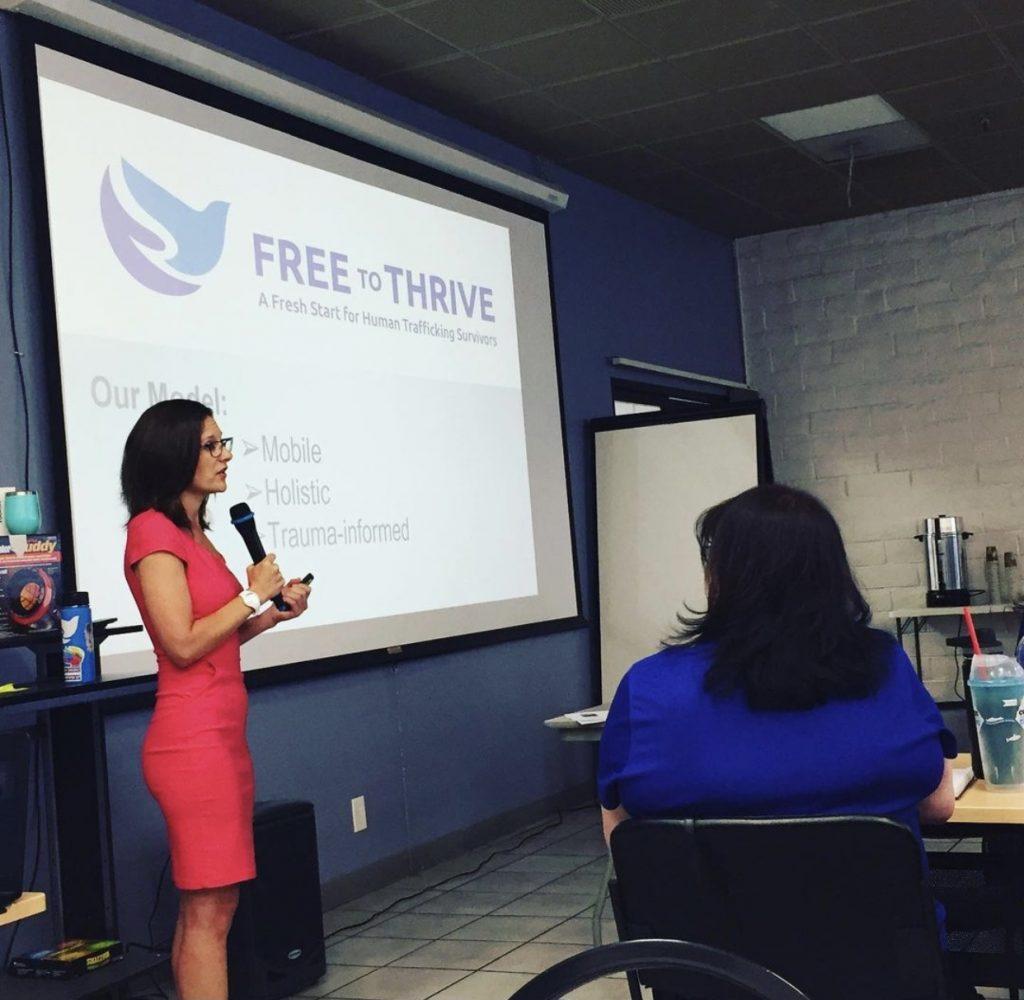 Ms. Q&A: Jamie Beck on Providing Legal Support to Survivors of Human Trafficking