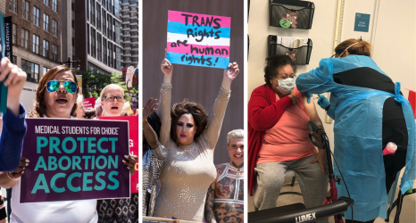 "The Weekly Pulse: Arkansas Is ""Worst State for Trans Kids""; 1-in-3 COVID Survivors Diagnosed with Brain Disorder; The Future of the Pandemic"
