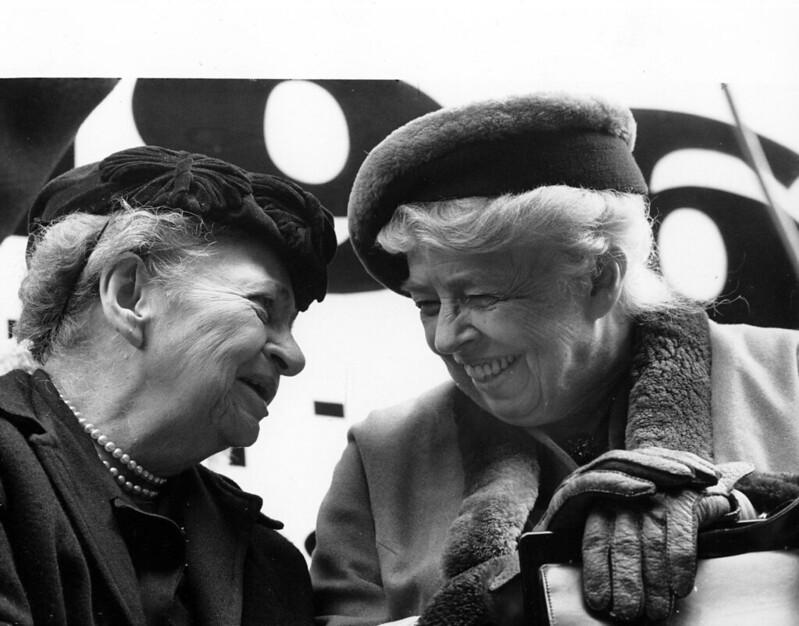 Eski Çalışma Bakanı Frances Perkins.  Kabindeki Kadınlar: Çok İlerleme Yapıldı, Ama Daha Gidilecek Uzun Bir Yol Var