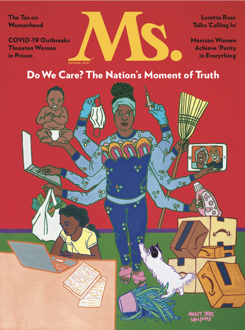 ms magazine spring 2021 cover
