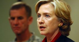 "Hillary Clinton Warns of ""Huge Consequences"" on Decision to Withdraw from Afghanistan"