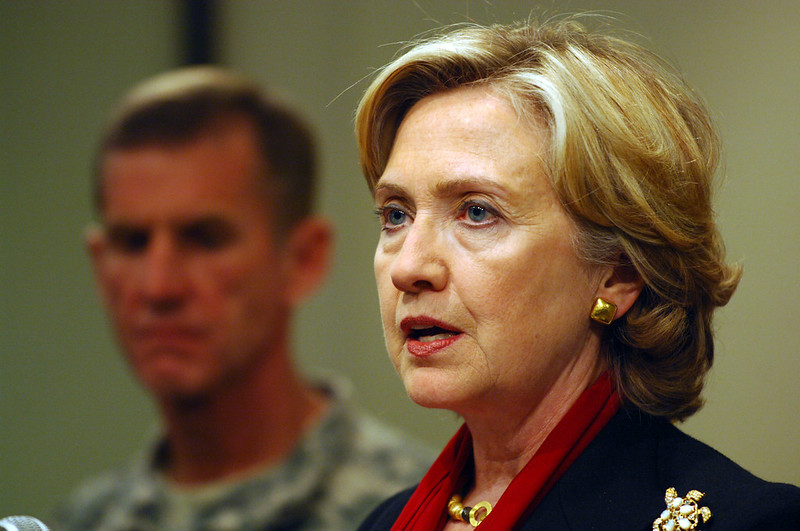 """Hillary Clinton Warns of """"Huge Consequences"""" on Decision to Withdraw from Afghanistan"""