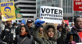 """If We Lose Voting Rights, We Lose Women's Rights"": Linking Voter Suppression and Abortion Restrictions"