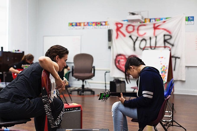 The Irresistible Drum Beat of Rock n' Roll Camp for Girls Los Angeles