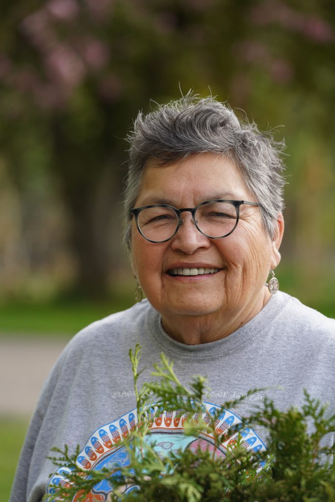 """""""This is Everything That We Have"""": Indigenous Women Lead the Movement to Stop Line 3 Sharon Day (Bois Forte Band of Ojibwe) Executive director of Indigenous Peoples Task Force."""