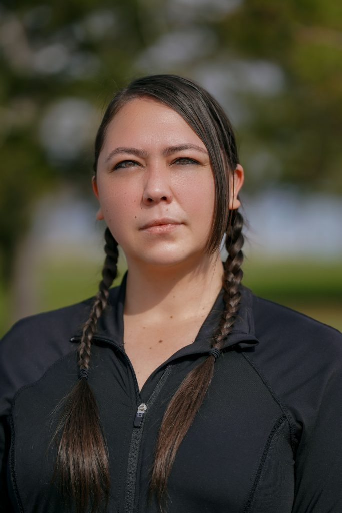 """""""This is Everything That We Have"""": Indigenous Women Lead the Movement to Stop Line 3 Gina Peltier (Turtle Mountain Band of Chippewa) Honor the Earth."""
