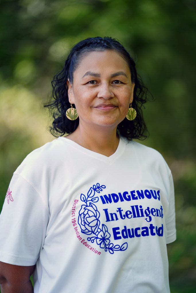 """""""This is Everything That We Have"""": Indigenous Women Lead the Movement to Stop Line 3 Fonda Smith (Leech Lake Band of Ojibwe) American Indian Family Advocate District 196 Schools in Minnesota"""
