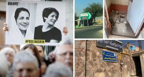 """Unbearable"": Reza Khandan, Husband of Nasrin Sotoudeh, on the Ground in Iran's Qarchak Prison"