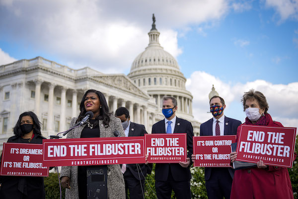 Ms. Summer 2021: Don't Filibuster Democracy