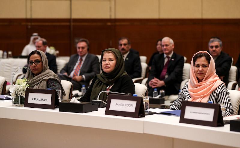 women-afghan-peace-negotiators-fawzia-koofi-fatima-gailani-taliban-afghanistan