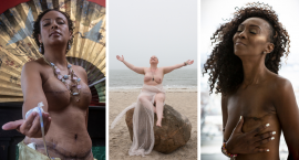 """The Grace Project Is Facing Breast Cancer Through Photography: """"We Get to See Women Transform into Goddesses"""""""