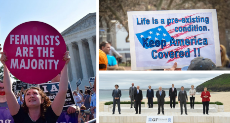 The Weekly Pulse G7 Pledges Billion Vaccines to Combat Growing Vaccine Gap; SCOTUS Protects Obamacare; N.C. Anti-Abortion Law Blocked (1)