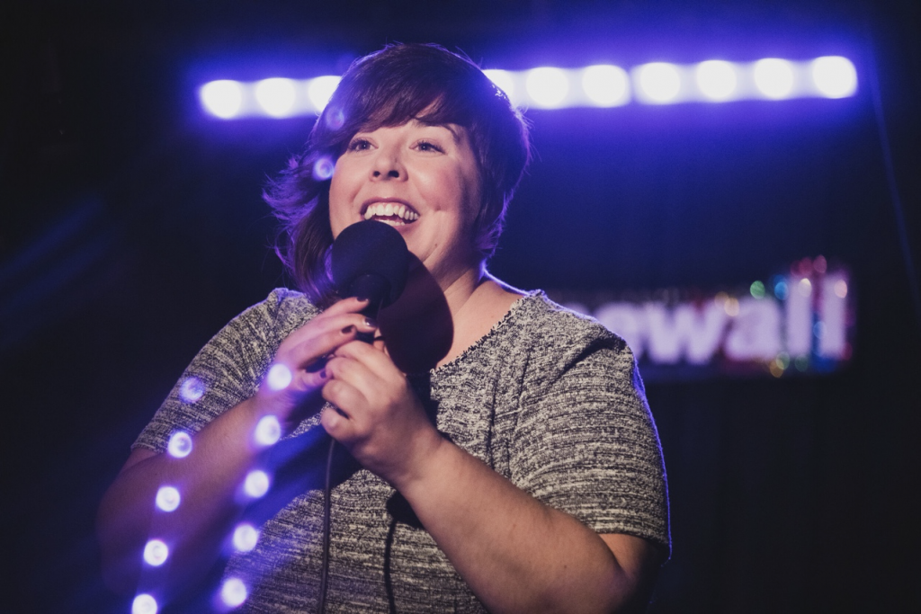 We Heart: Comedian Carolyn Castiglia Welcomes Women Into Stand-Up Comedy