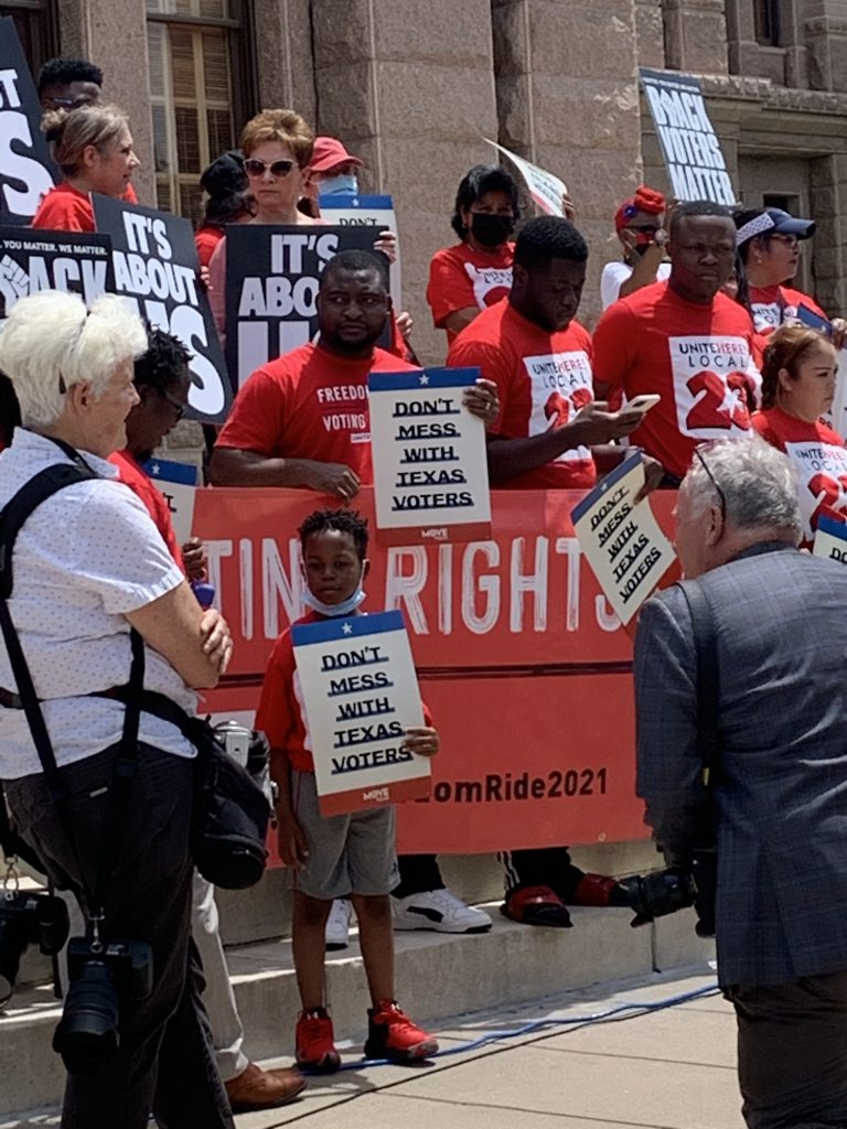 On the Ground in Texas: The Latest Front Line of Voting Rights texas-voting-rights-special-session