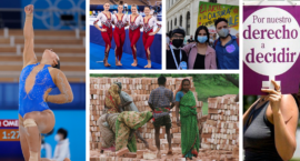 Ms. Global: Women Olympians Make History on Global Stage; Argentina Formally Recognizes Non-Binary Individuals; Saudi Feminist Activists Released From Prison