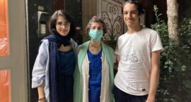 """Iranian Human Rights Attorney Nasrin Sotoudeh Home From Prison Temporarily: """"We Are Hoping for a Better Future That Can Protect Us"""""""