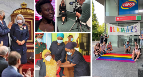 Ms. Global: First Indigenous Canadian Elected Governor-General; Anti-LGBTQ Bill Introduced in Ghana; Tanzania's First Woman President