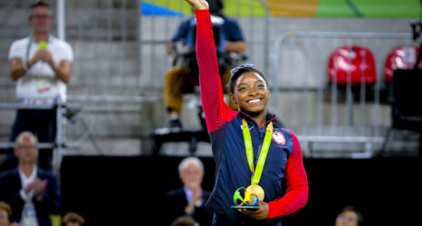 On Simone Biles and the Space Between the Leap and the Land