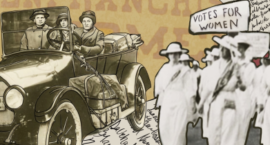 'The Suffrage Road Trip': A Tribute to Two Middle-aged, Lesbian, Immigrant Suffragists