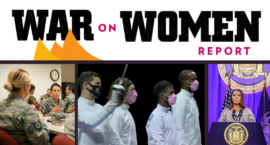 War on Women Report: Adding Women to the Draft Is the New Culture War; Report Finds Gov. Cuomo Harassed 11 Women