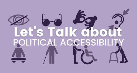 disabled women political representation