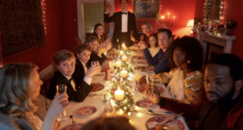"""Camille Griffin's Apocalyptic, Existential """"Silent Night"""" Challenges Conventions of the Feel-Good Holiday Movie"""