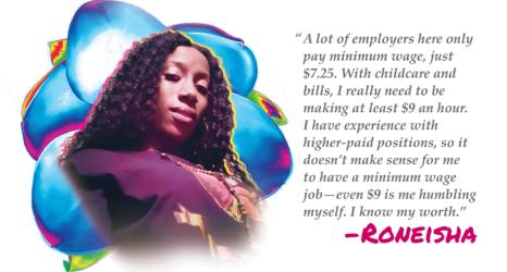 Guaranteed Income Helps Roneisha Know Her Worth