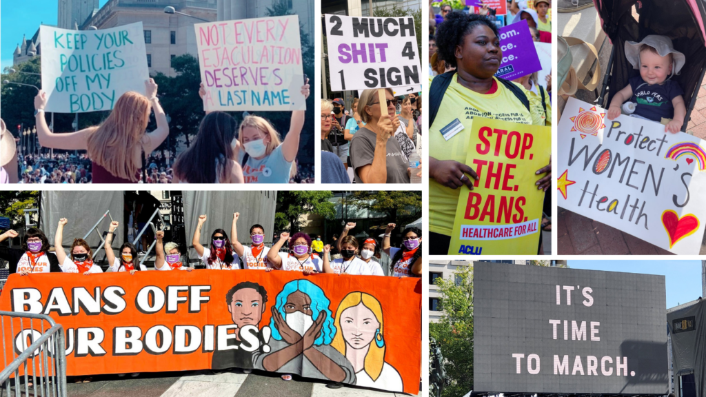 Our Favorite Signs from the Women's March for Reproductive Rights