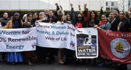 """The Voices Excluded From the U.N. Climate Change Conference: """"Women Are Vital to Solutions"""""""