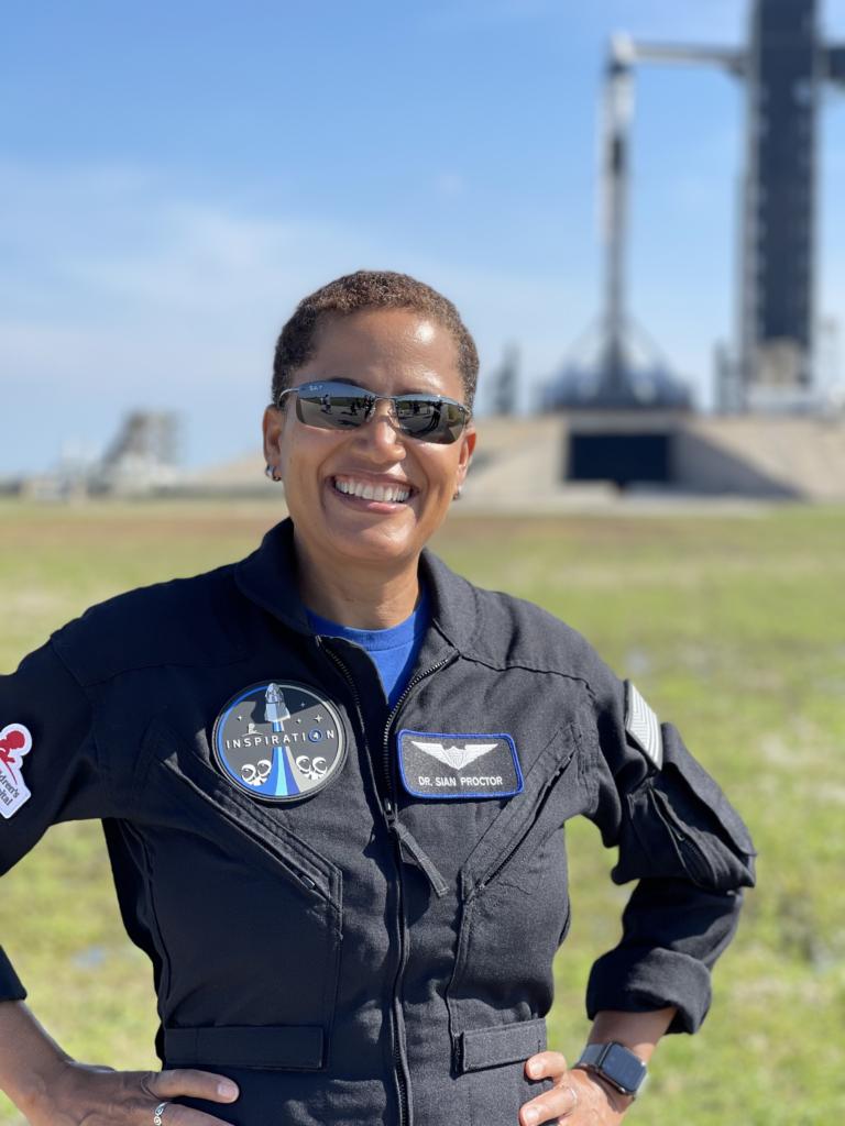 sian-proctor-first-black-woman-pilot-spacecraft-spacex-stem